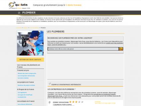 Plombier - Entreprise plomberie - Devis...