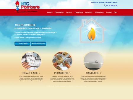 NTC Plomberie : Plombier chauffagiste Pont à...