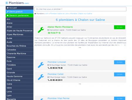 Plombier Chalon sur Saône : Avis, Devis pas...