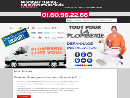 Plombier 91700 Sainte-genevieve-des-bois -...