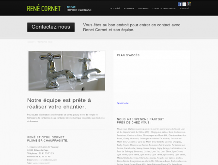 Plombier Chauffagiste Lyon 69 | René Cornet -...