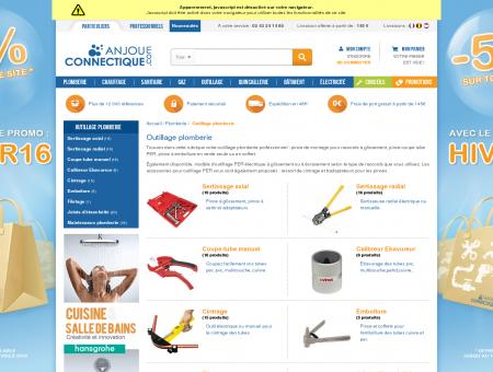 Outillage pour le plombier | Anjou connectique