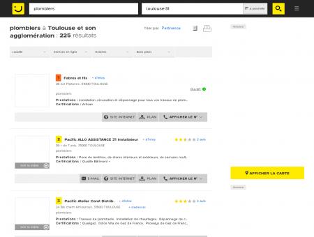 Plombier à Toulouse - PagesJaunes : Trouvez...