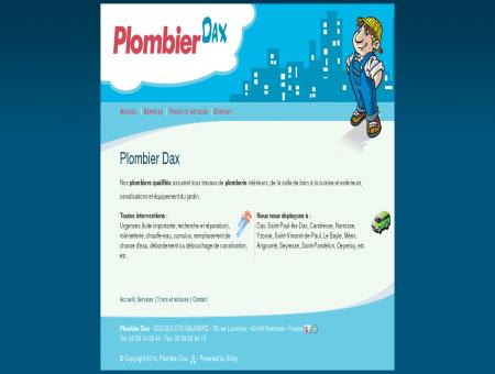 Plombier Dax