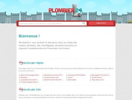 Plombier24.fr : trouvez un plombier partout en...