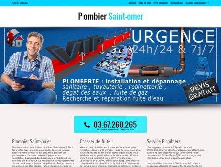Plombier 62500 Saint-omer - Meilleur...