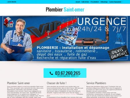 Plombier 62500 Saint-omer - Wilfried...