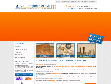 Plombier chauffagiste à Soissons - Installation...