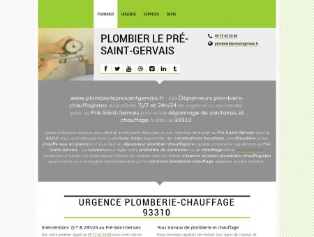 Plombier Le Pré-Saint-Gervais - Toute urgence...