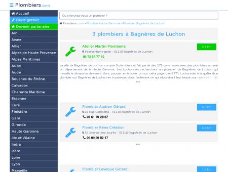 Plombier Bagnères de Luchon : Avis, Devis...