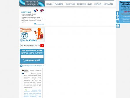 Réparation fuite eau - Plombier Chauffagiste :...