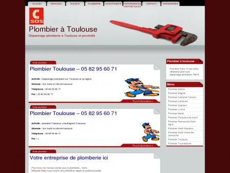 Plombier Toulouse PAS CHER: 05 82 95 60 71 ...