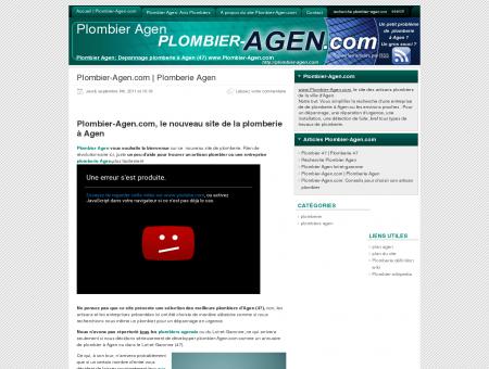 Plombier Agen | Plomberie Agen
