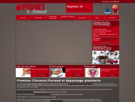 Plombier Clermont-Ferrand - Piguet entreprise...