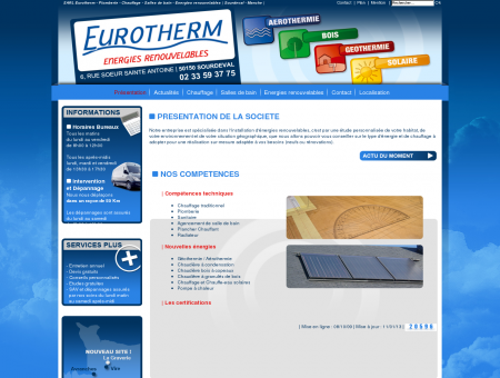 SARL EUROTHERM - Plomberie - Chauffage -...