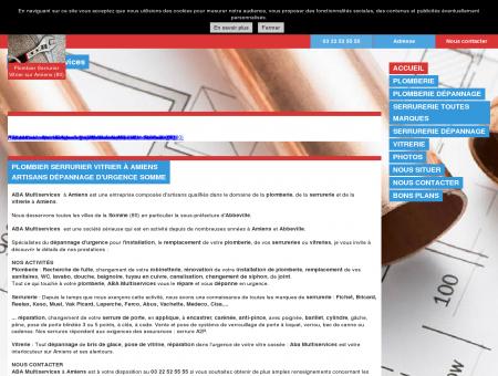 ABA Multiservices, vos artisans sur Amiens et...