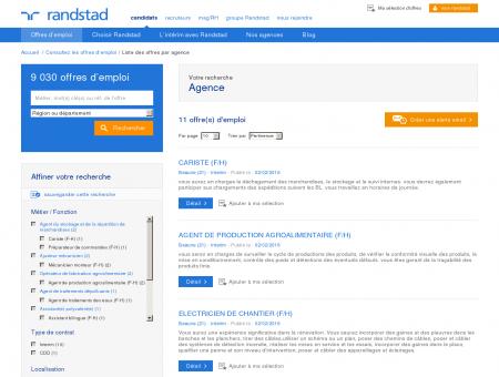 Offres d'emploi de l'agence Randstad Beaune