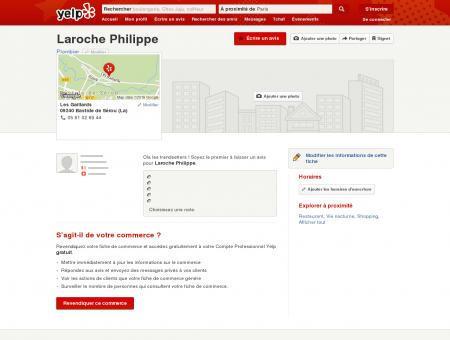 Laroche Philippe - Plombier - Les Gaillards -...