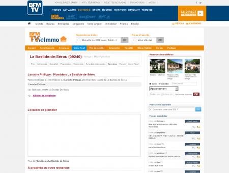 Laroche Philippe - Plombiers La Bastide-de...