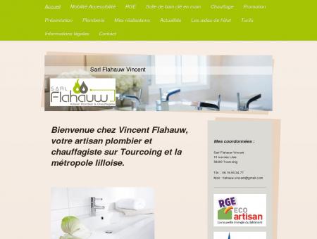 Bienvenue chez Vincent Flahauw, votre artisan...