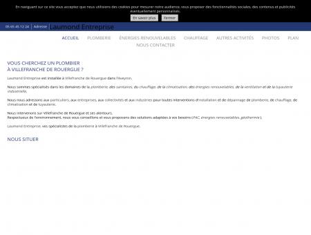 Plombiers - Laumond Entreprise à Villefranche...