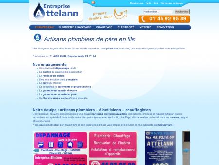 Entreprise de plomberie Attelann | artisan...