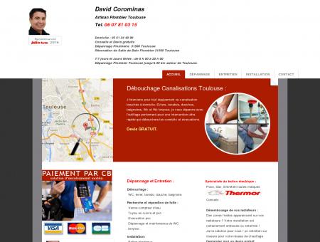 Plombier Toulouse : Artisan, David Corominas,...