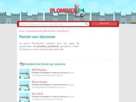 Plombier Portet-sur-Garonne - Tous les...