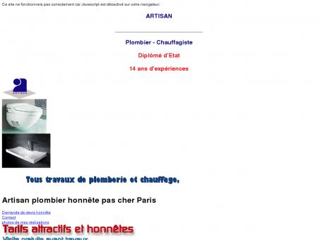Artisan Plombier chauffagiste sur Paris, 92