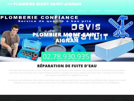 Plombier 76130 Mont-saint-aignan |...
