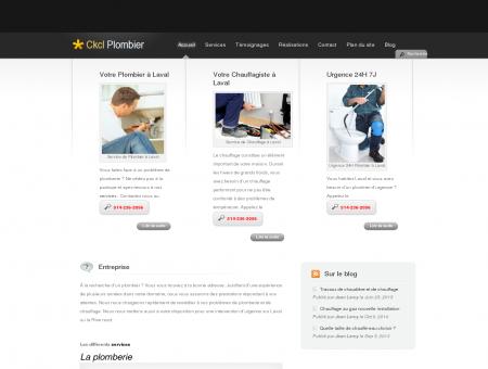Ckcl Votre Plombier à Laval Tél: 514-236-2056...