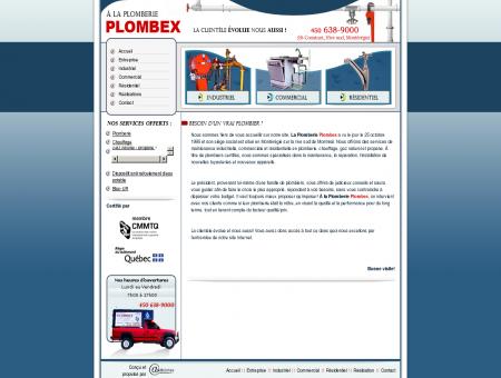 Plombex inc. - Plombier Montréal Rive-Sud...