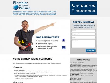 Plombier de l'Ouest Parisien - Dépannage et...