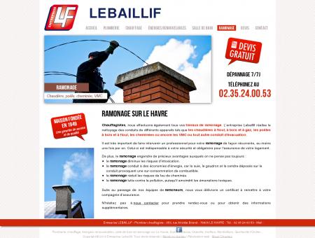 Entreprise LEBAILLIF - Ramonage sur Le Havre...