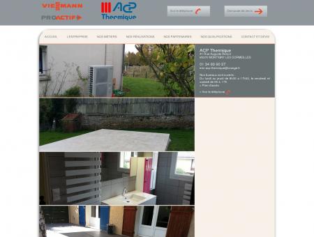 ACP Thermique Plombier à MONTIGNY LES...