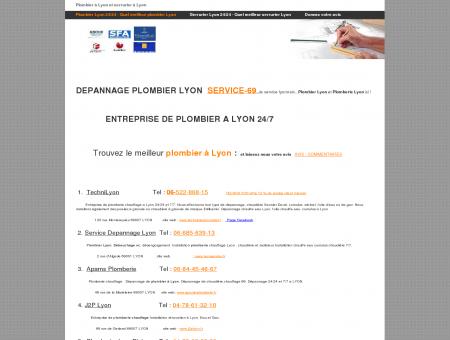 Plombier Lyon 24/24 - Quel meilleur plombier...