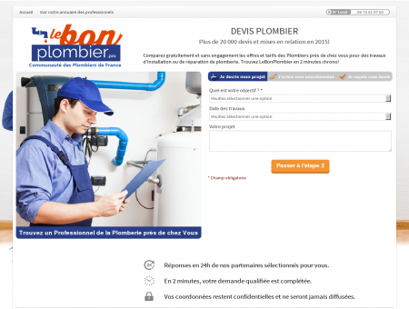 Plombier Mouthiers - Votre Devis en 2 clics !