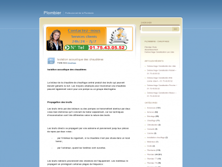 Isolation acoustique des chaudières | Plombier