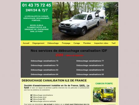 Debouchage canalisation Ile de France -230...
