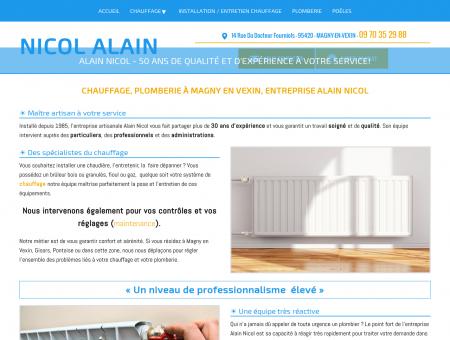 Plombier Magny en Vexin - NICOL ALAIN :...