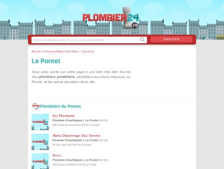 Plombier Le Pontet - Tous les plombiers du...