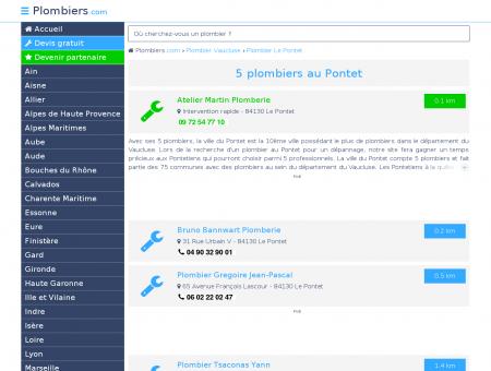Plombier Le Pontet 84130 : Avis, Devis pas...