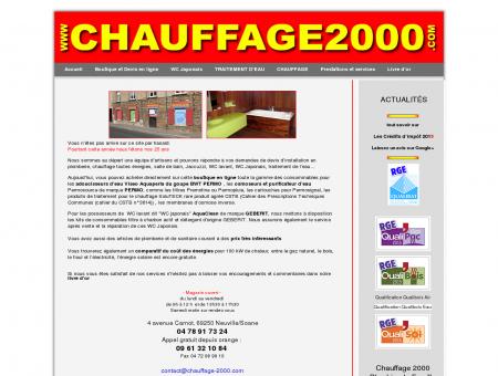Chauffage 2000 : Traitement de l'air et de l'eau ...