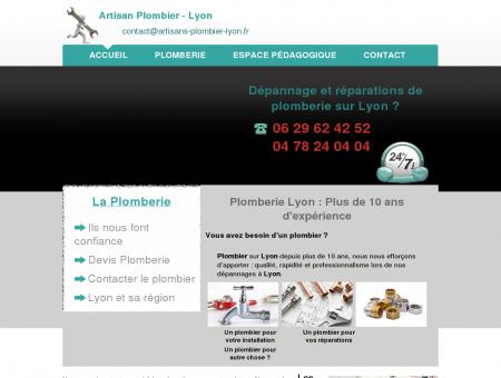 Plombier Lyon - Plomberie Réparations et...