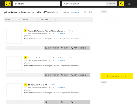 Plombier à Mantes la Jolie - PagesJaunes :...