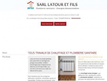LATOUR ET FILS (SARL), Chalon sur Saone,...