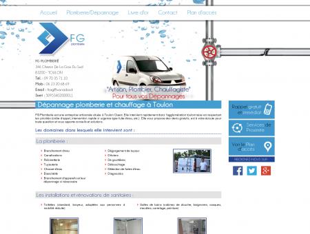 Plombier Toulon - FG PLOMBERIE : depannage...