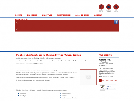Plombier 27 - VERNEAU EURL : chauffagiste,...