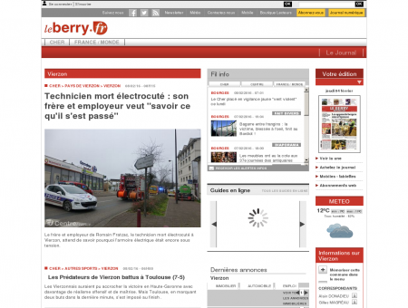 www.leberry.fr - Infos locales - Infos locales