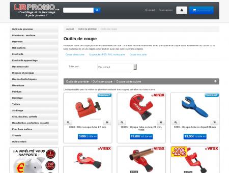 Outils de coupe Libpromo - Libpromo -...